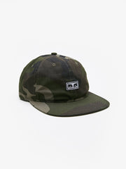 OBEY - Overthrow Men's 6 Panel Snapback Hat, Camo
