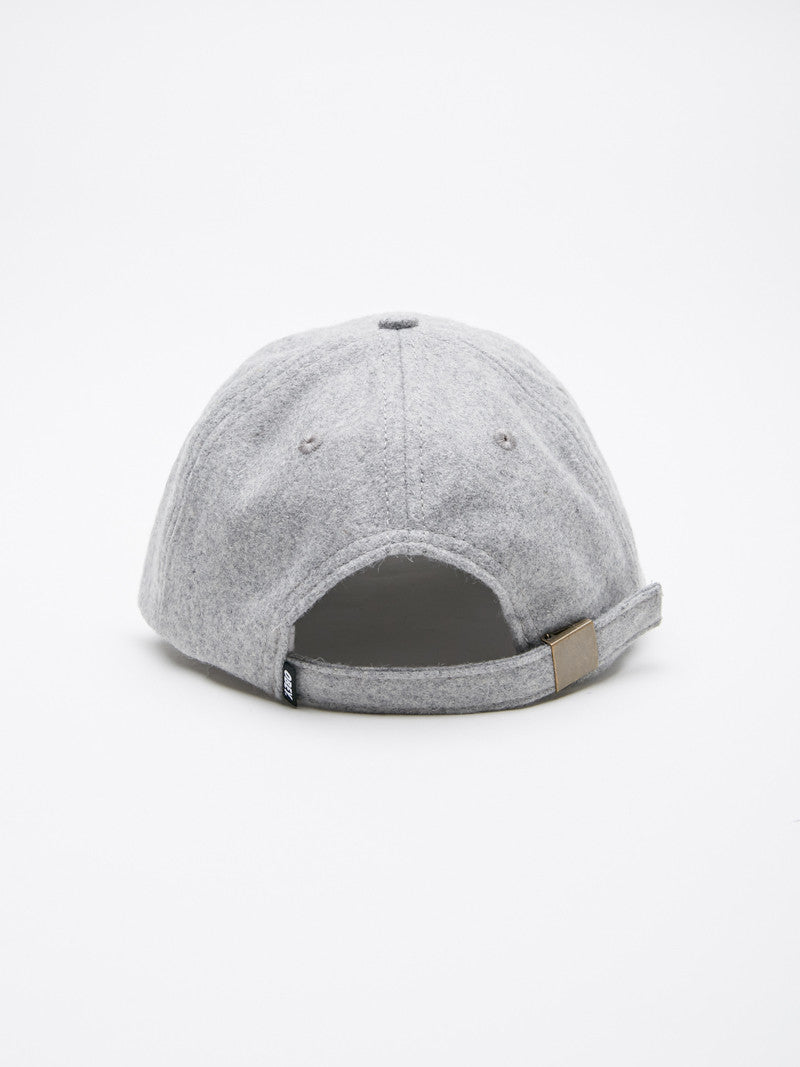 OBEY - Nineteen Eighty Nine Men's 6 Panel, Heather Grey - The Giant Peach