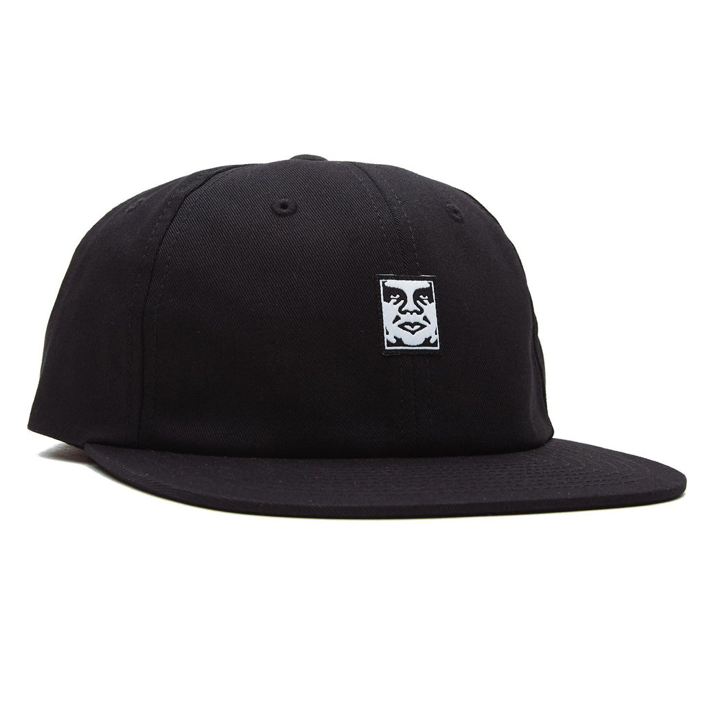 OBEY - Icon Face 6 Panel Men's Strapback, Black