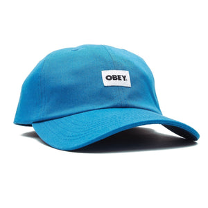 OBEY - Bold Label Organic Men's 6 Panel, Blue Sapphire