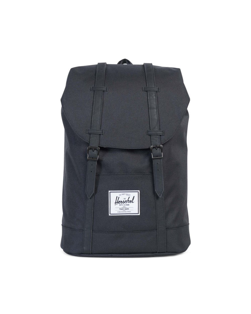 Herschel Supply Co. - Retreat Backpack, Black/Black PU