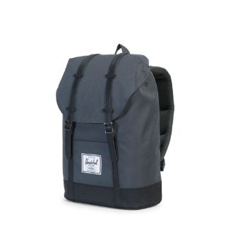Herschel Supply Co. - Retreat Backpack, Dark Shadow/Black