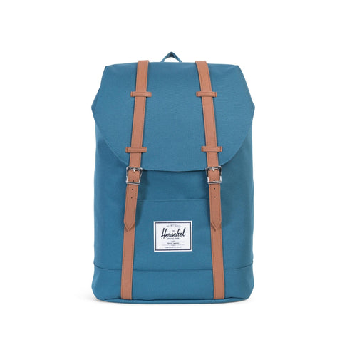 Herschel Supply Co. - Retreat Backpack, Indian Teal - The Giant Peach - 1