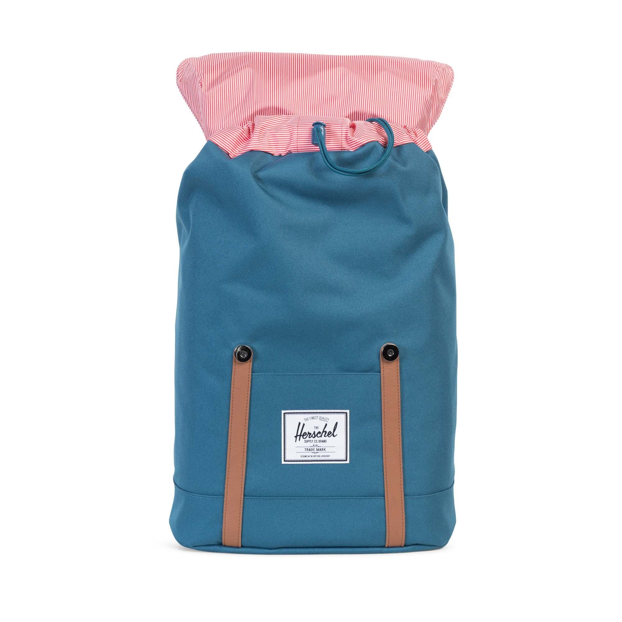 Herschel Supply Co. - Retreat Backpack, Indian Teal - The Giant Peach - 2