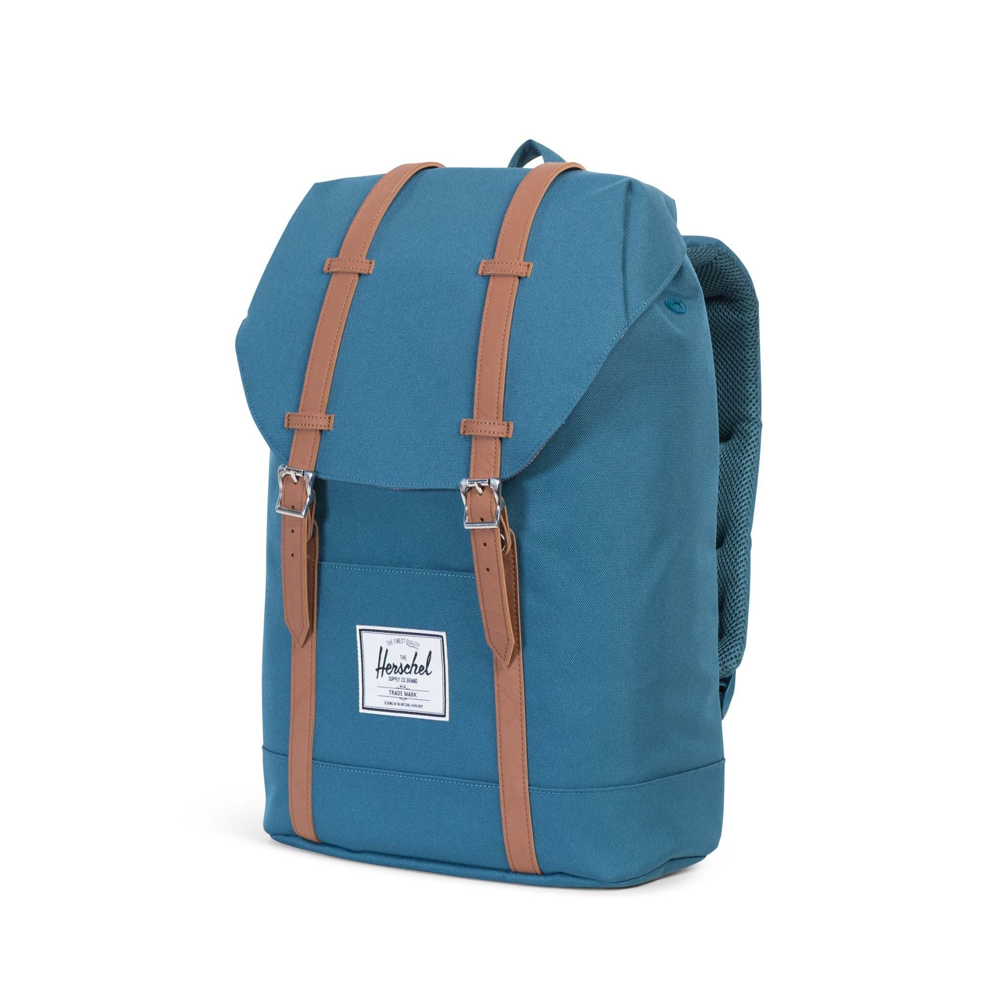 Herschel Supply Co. - Retreat Backpack, Indian Teal - The Giant Peach - 3