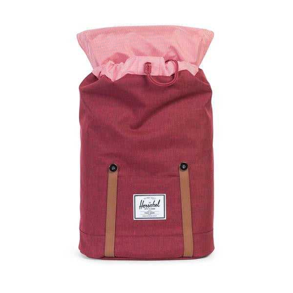 Herschel Supply Co. - Retreat Backpack, Wine Crosshatch - The Giant Peach - 3