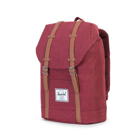 Herschel Supply Co. - Retreat Backpack, Wine Crosshatch