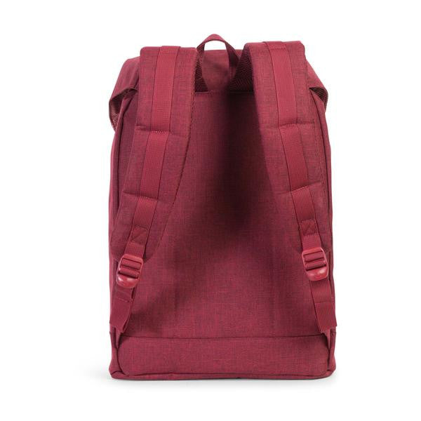 Herschel Supply Co. - Retreat Backpack, Wine Crosshatch - The Giant Peach - 4