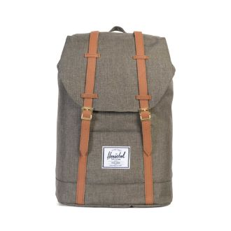 Herschel Supply Co. - Retreat Backpack, Canteen Crosshatch - The Giant Peach