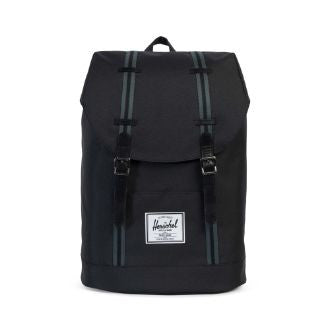 Herschel Supply Co. - Retreat Backpack, Black/Dark Shadow - The Giant Peach