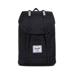 Herschel Supply Co. - Retreat Backpack, Black/Black/White Inset - The Giant Peach