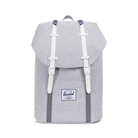 Backpacks the giant peach herschel supply co retreat backpack light greycrosshatchwhite blueprint malvernweather Gallery