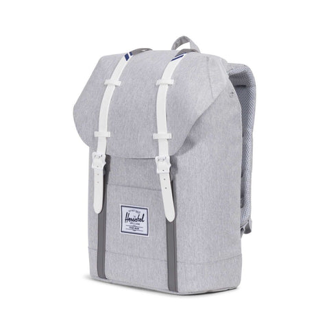 Backpacks the giant peach herschel supply co retreat backpack light greycrosshatchwhite blueprint stripe malvernweather Gallery