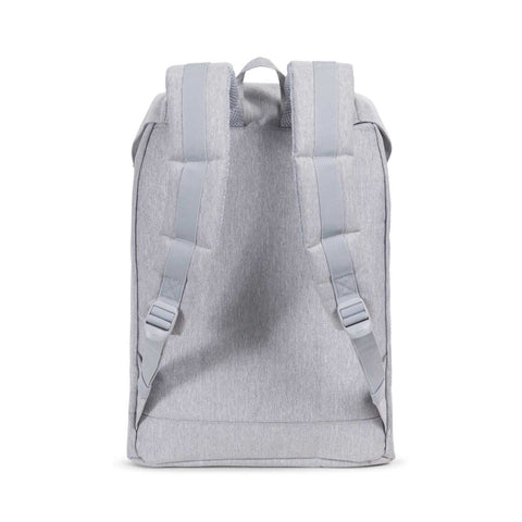 Herschel Supply Co. - Retreat Backpack, Light Grey/Crosshatch/White/Blueprint Stripe