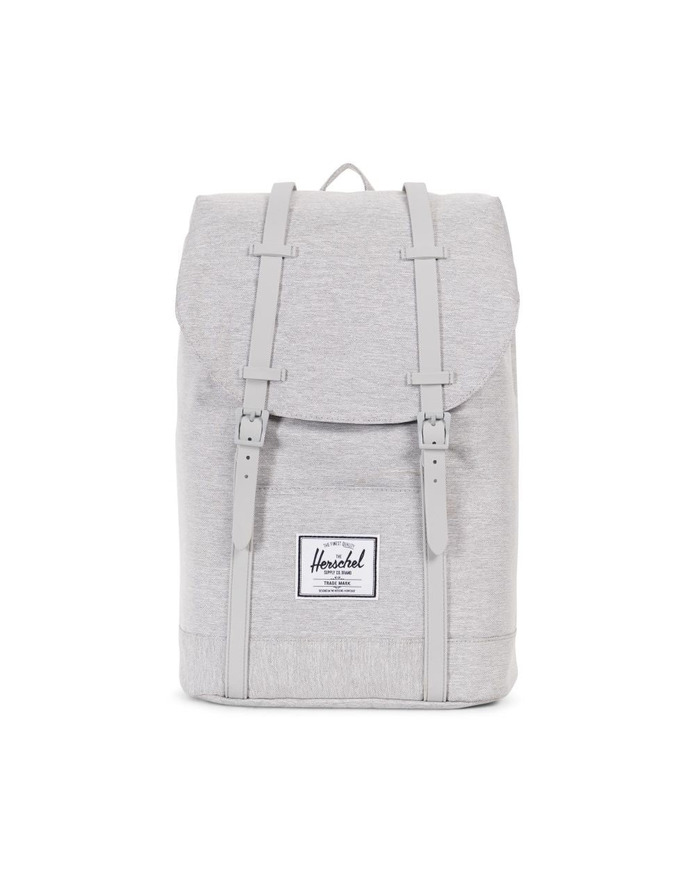 Herschel Supply Co. - Retreat Backpack, Light Grey Crosshatch