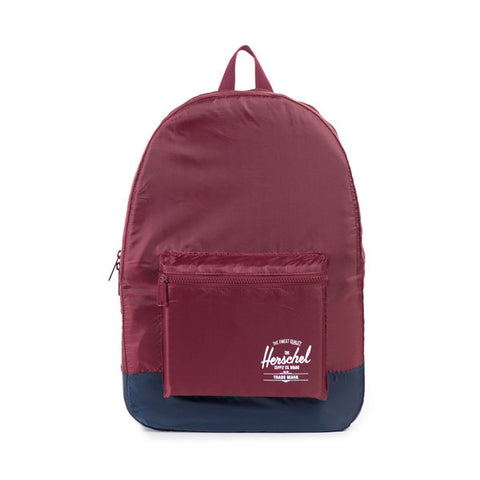 Herschel Supply Co. - Packable Daypack, Wine/Navy - The Giant Peach