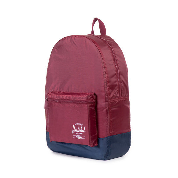 Herschel Supply Co. - Packable Daypack, Wine/Navy - The Giant Peach - 2