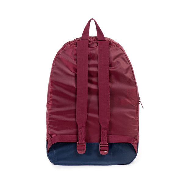 Herschel Supply Co. - Packable Daypack, Wine/Navy - The Giant Peach - 3