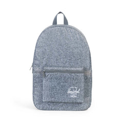 Herschel Supply Co. - Packable Daypack, Raven Crosshatch - The Giant Peach