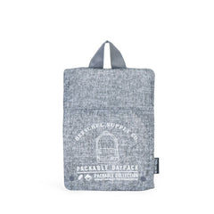 Herschel Supply Co. - Packable Daypack, Raven Crosshatch - The Giant Peach - 4