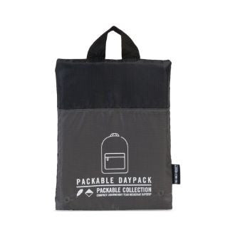 Herschel Supply Co. - Packable Daypack, Dark Shadow/Black