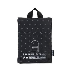 Herschel Supply Co. - Packable Daypack, Black Gridlock - The Giant Peach