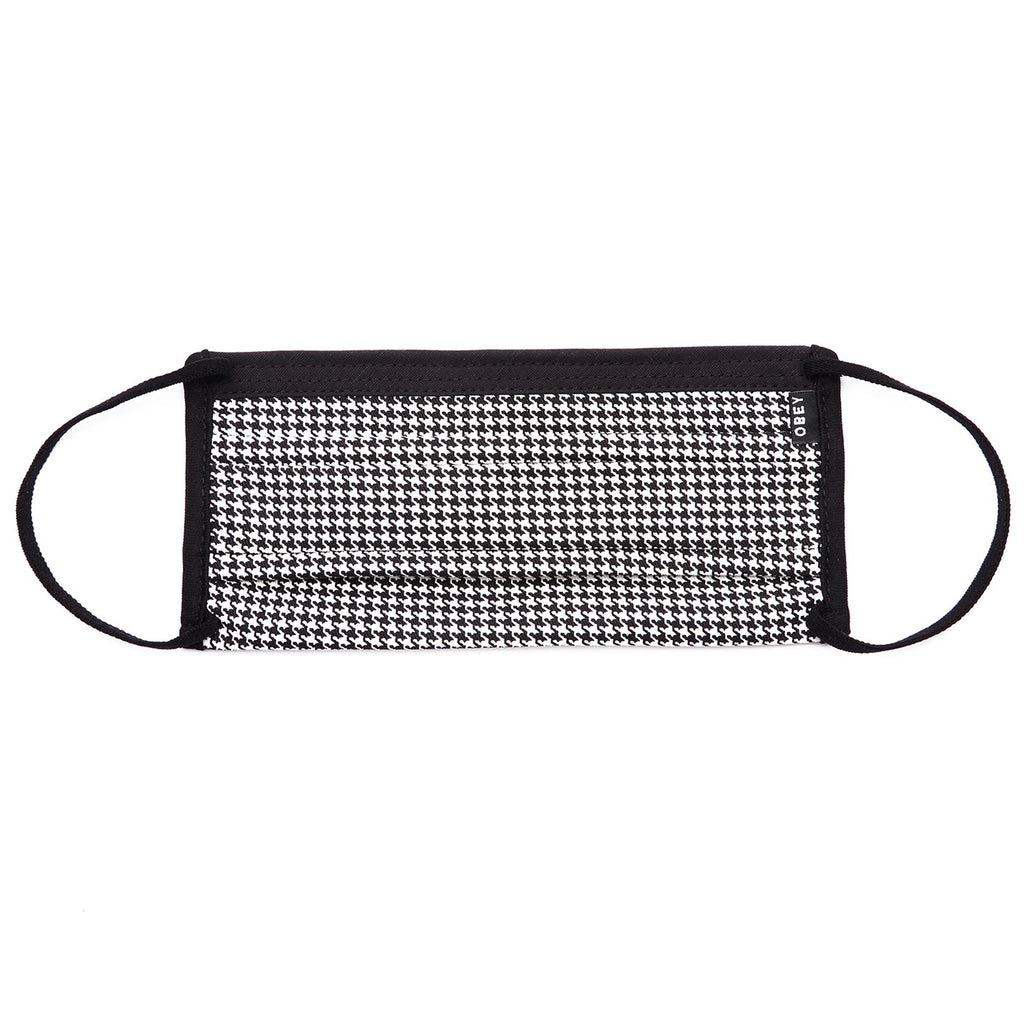 OBEY - Creeper Mask, Black White Houndstooth