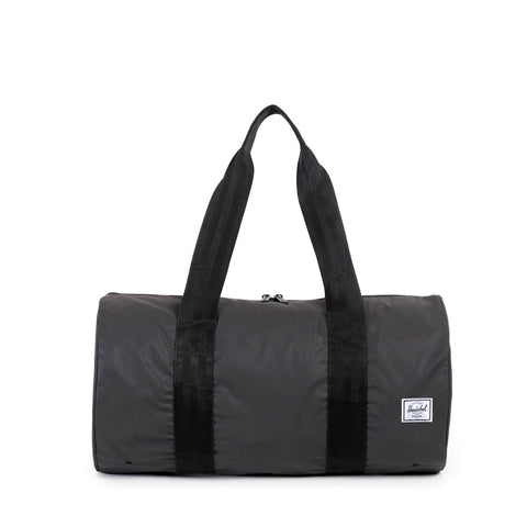 Herschel Supply Co. - Packable Duffle, Black Reflective - The Giant Peach - 1