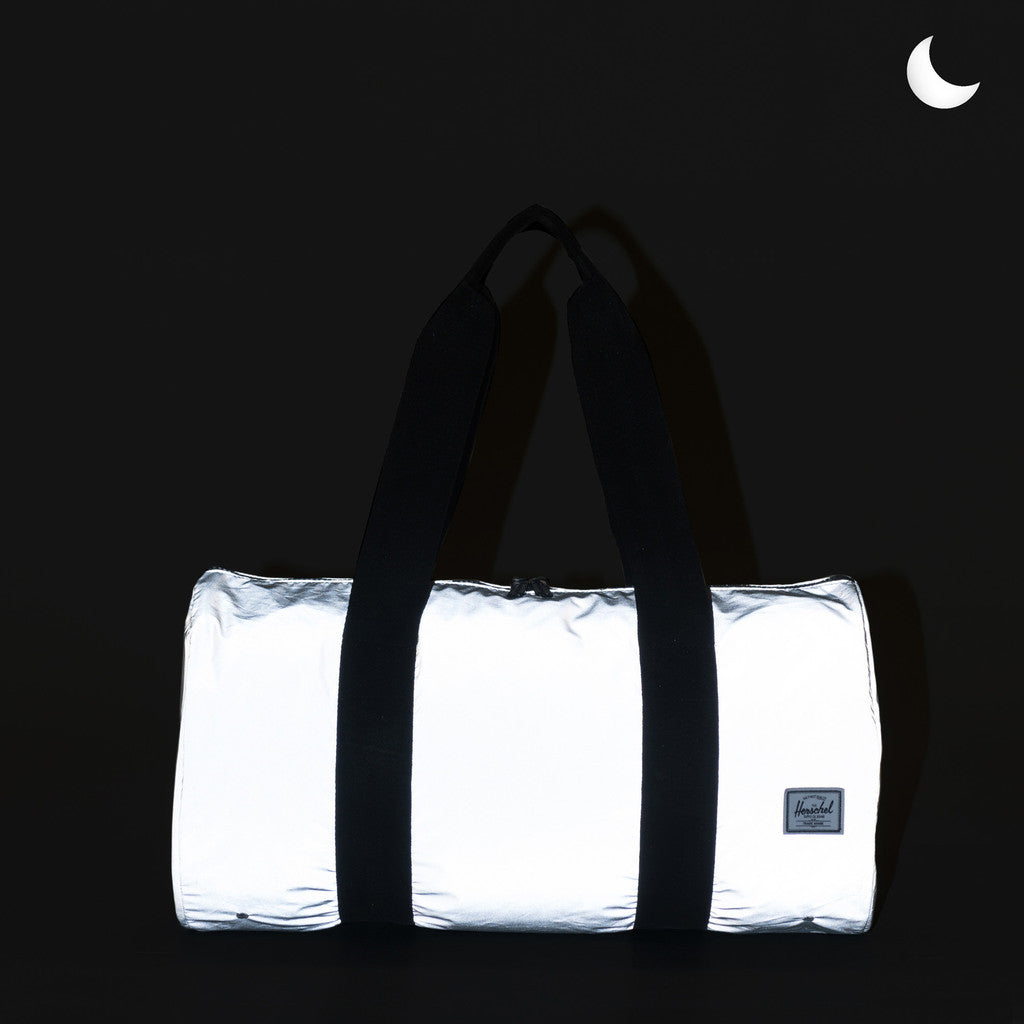 Herschel Supply Co. - Packable Duffle, Silver Reflective - The Giant Peach - 2
