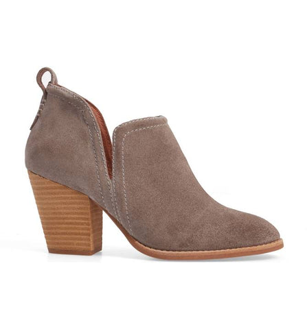 Jeffrey Campbell - Rosalee Ankle Bootie, Taupe Suede
