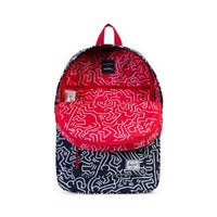 Herschel Supply Co. x Keith Haring - Winlaw Backpack, Peacoat - The Giant Peach