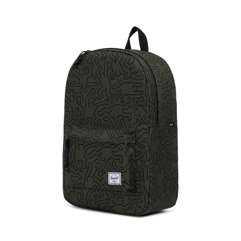 Herschel Supply Co. x Keith Haring - Winlaw Backpack, Forest Night