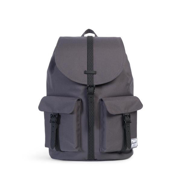 Herschel Supply Co. - Dawson Backpack, Charcoal/Black Native Rubber - The Giant Peach