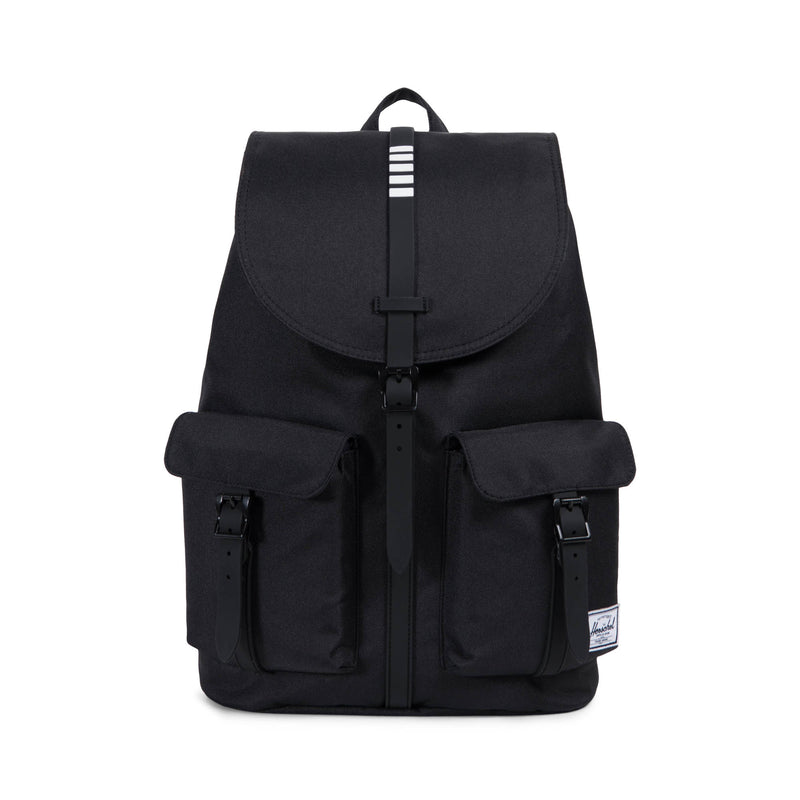Herschel Supply Co. - Dawson Backpack, Black/Black/White Inset - The Giant Peach