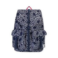 Herschel Supply Co. x Keith Haring - Dawson Backpack, Peacoat - The Giant Peach