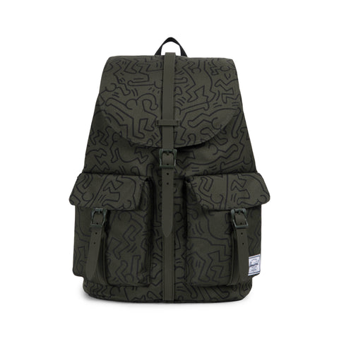 Herschel Supply Co. x Keith Haring - Dawson Backpack, Forest Night