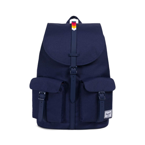 Herschel Supply Co. - Dawson Backpack, Peacoat/Rainbow Chevron