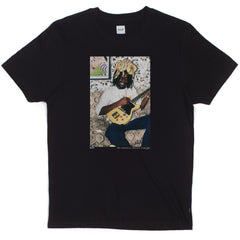 HUF - Family Acid Peter Tosh Crown Men's Tee, Black - The Giant Peach - 1