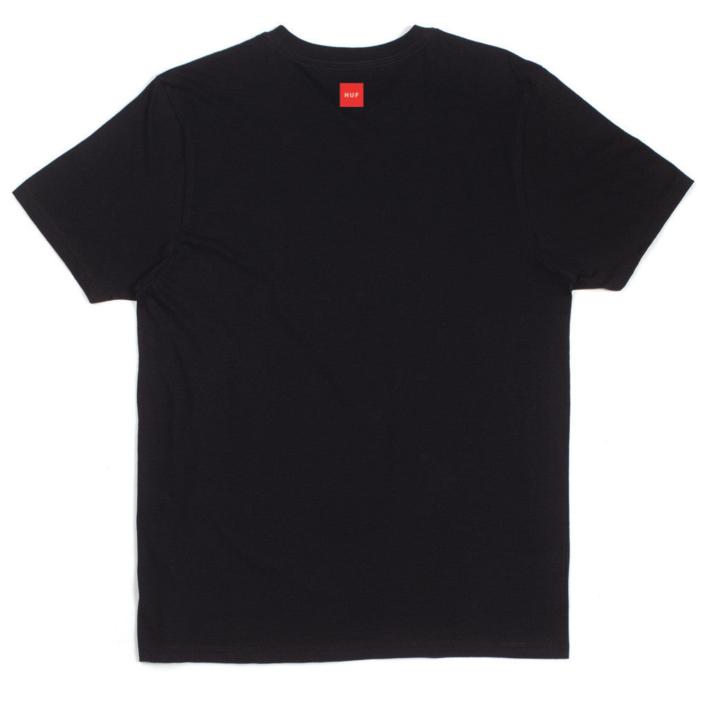 HUF - HUF x Slap First Cover Men's Tee, Black - The Giant Peach