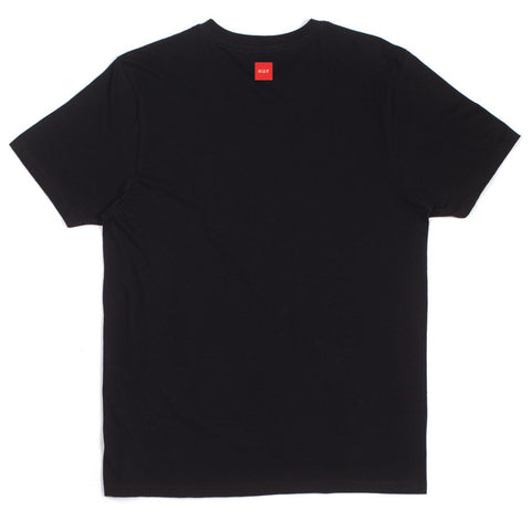 HUF - HUF x Slap First Cover Men's Tee, Black