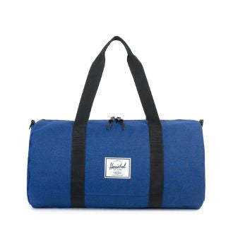 Herschel Supply Co. - Sutton Mid Volume Duffle, Eclipse Crosshatch/Black - The Giant Peach
