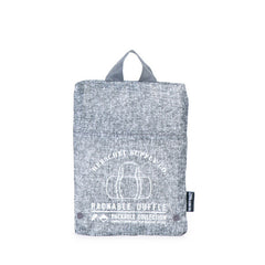Herschel Supply Co. - Packable Duffle, Raven Crosshatch - The Giant Peach - 3