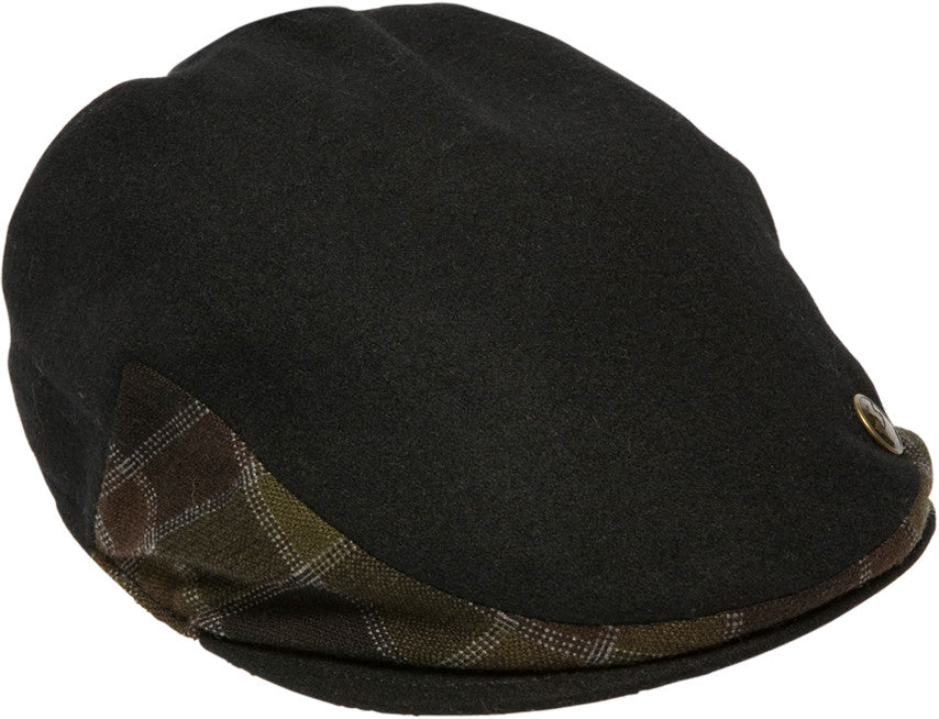 Goorin - Duck Cap, Black - The Giant Peach - 3