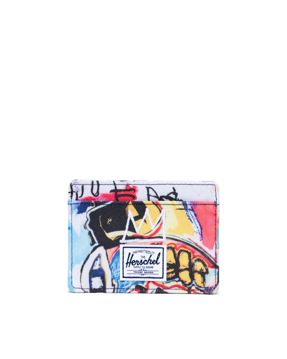 Herschel Supply Co. x Basquiat - Charlie Wallet,  Basquiat Skull