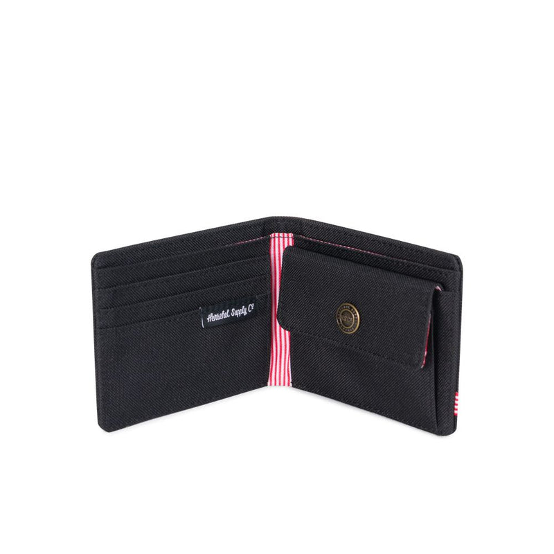 Herschel Supply Co - Roy Coin Wallet, Black - The Giant Peach
