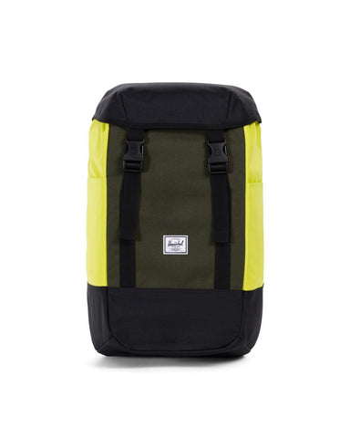 Herschel Supply Co. - Iona Backpack, Black/Forest Night/Evening Primrose