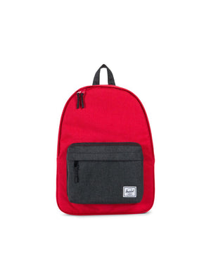 Herschel Supply Co. - Classic Backpack, Barbados Cherry Crosshatch/Black Crosshatch