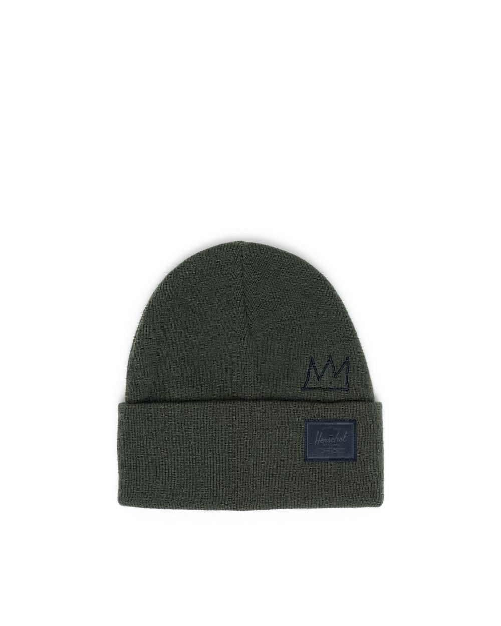 Herschel Supply Co. x Basquiat - Elmer Beanie, Dark Olive