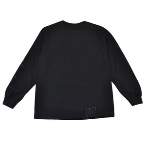 10Deep - Ex Files Men's L/S Tee, Black