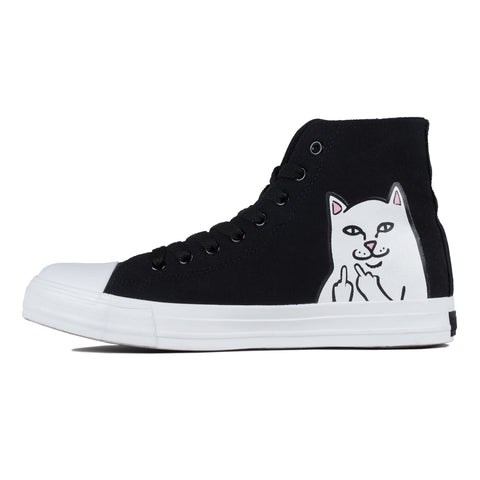RIPNDIP - Lord Nermal High Top Shoes, Black